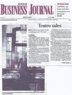 Denver Business Journal, July 2011