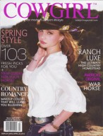 Cowgirl, March/April 2012 {C Lazy U}