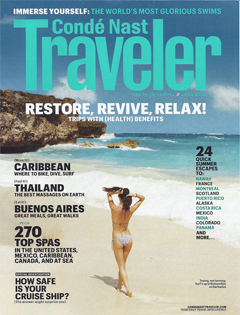 Conde Nast Traveler, June 2012 {St Julien Hotel & Spa}