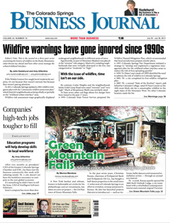 Colorado Springs Business Journal, July 2012 {The Outlook Lodge}