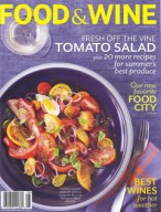 Food & Wine, August 2012 {Solaris}