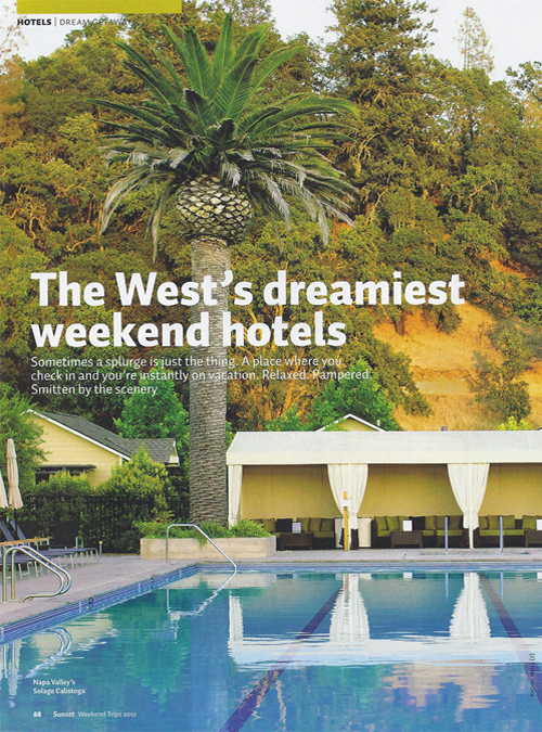 Sunset Weekend Trips Special Issue, August 2012 {Hotel Teatro and Kevin Taylor Restaurant Group}