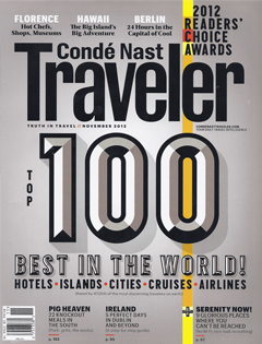 Condé Nast Traveler, November 2012 {St Julien Hotel & Spa and Hotel Teatro}