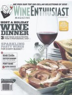 Wine Enthusiast, December 2012 {Hotel Teatro}