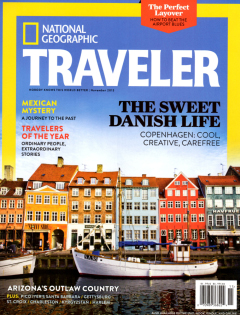 National Geographic Traveler, November 2013 {Mission Restaurant Group}