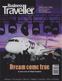 Business Traveller, November 2011