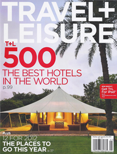 Travel + Leisure, January 2012 {Hotel Teatro}