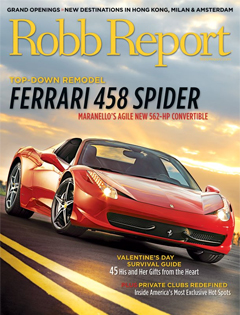 Robb Report, February {Solaris & Folsom Custom Skis}