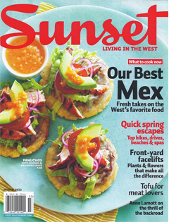 Sunset Magazine, March 2012 {Local Table Tours}