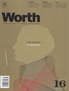 Worth, February/March 2012 {Folsom Custom Skis}