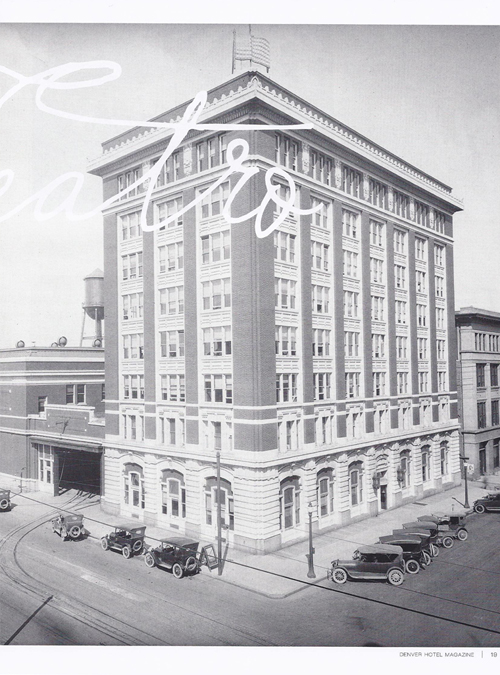 Denver Hotels, Winter 2012/2013 {Local Table Tours & Hotel Teatro}