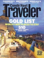 Condé Nast Traveler, January 2013 {St Julien Hotel & Spa)